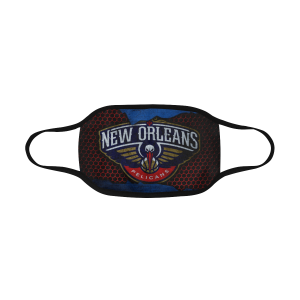 Adult Mask PM2.5 - New Orleans Pelicans Face Mask
