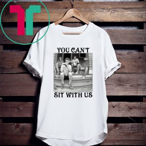 Minor Threat Golden Girls You Can't Sit With Us Tee Shirt
