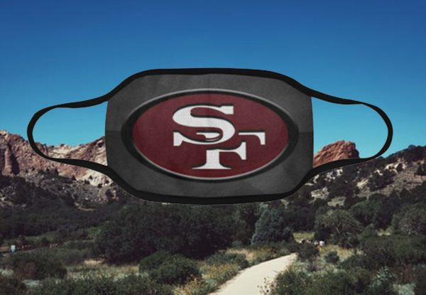 San Francisco 49ers Filter Face Mask Activated Carbon - Face Mask Archives