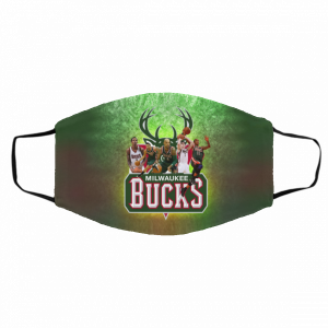 Adults Mask PM2.5 – Milwaukee Bucks Face Mask