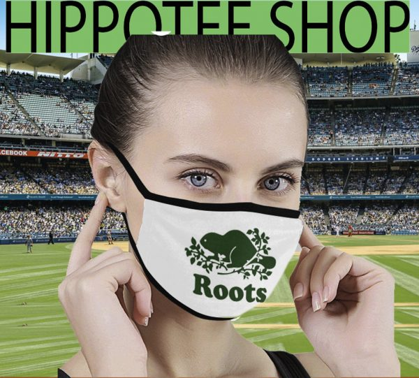 Logo Roots Canada Face Masks Filter PM2.5
