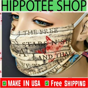 ,WE THE PEOPLE UNIQUE QUALITY FACE MASK