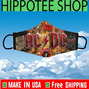 #AC/DC Masks - Logo ACDC Cloth Face Mask Cover