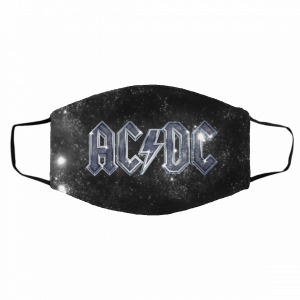 #AC/DC Masks – Logo ACDC Cloth Face Mask Cover